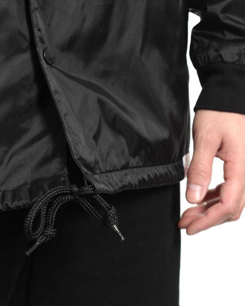 Arabic Coach Jacket Black