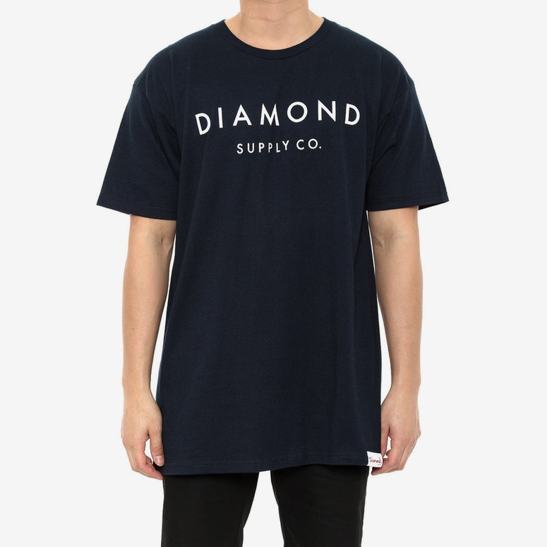 Yacht Type Tee Navy
