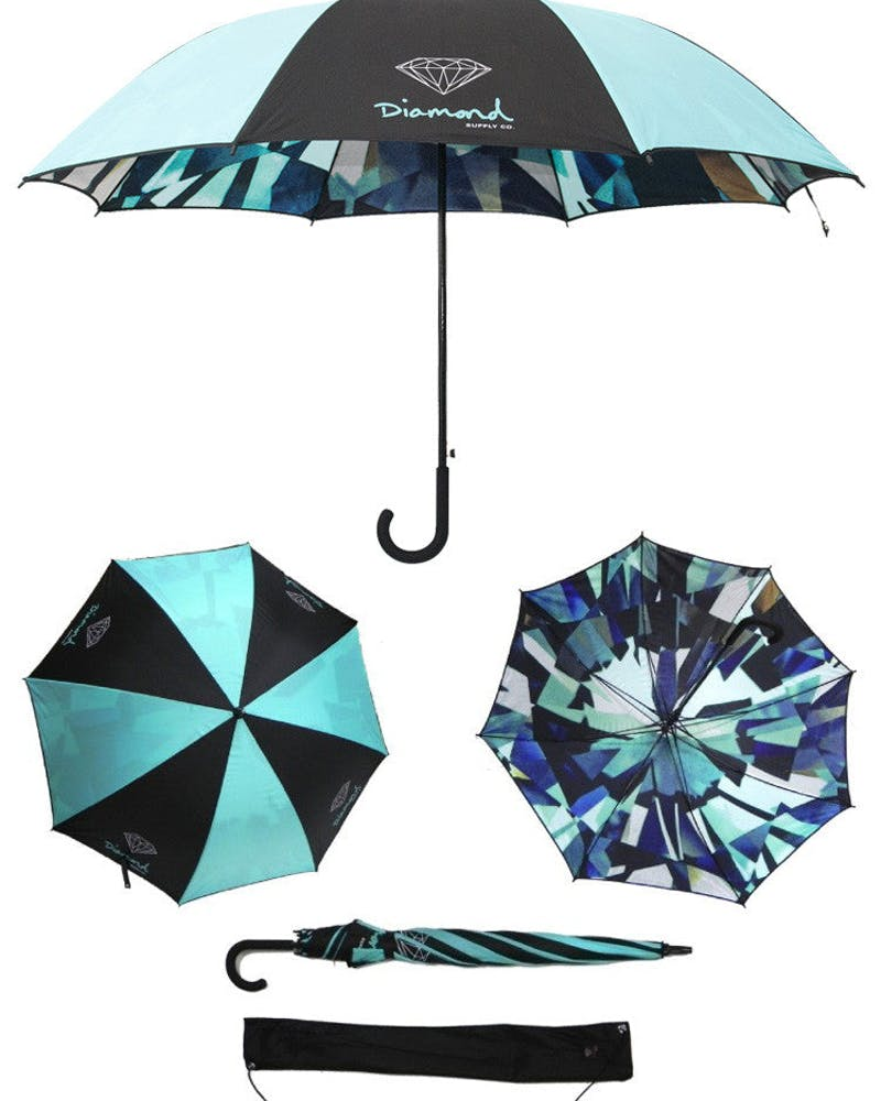 Simplicity Umbrella Multi-coloured
