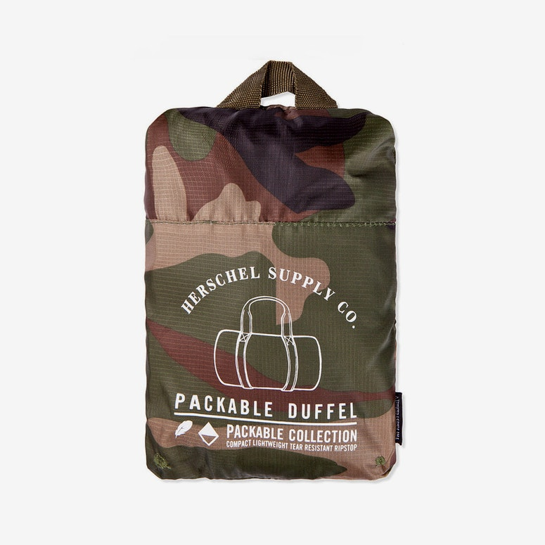 Packable Duffle Bag Camo/khaki