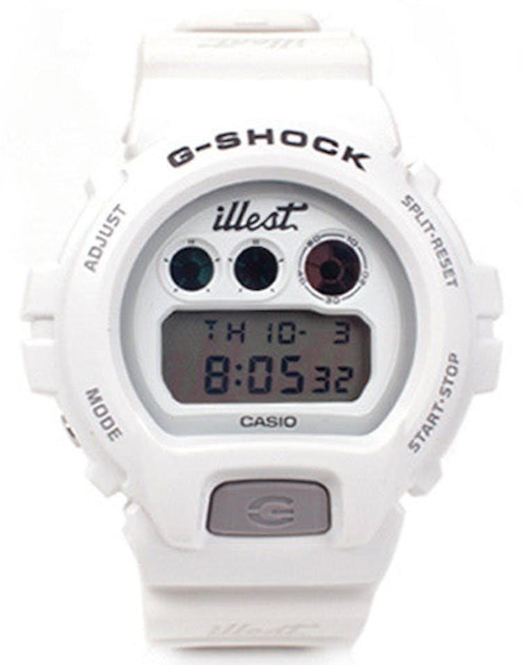 Illest Team X G-shock White
