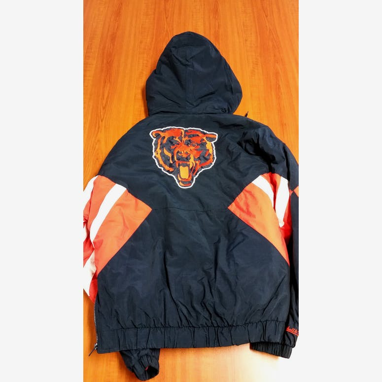 Throwback Jacket Black/Orange