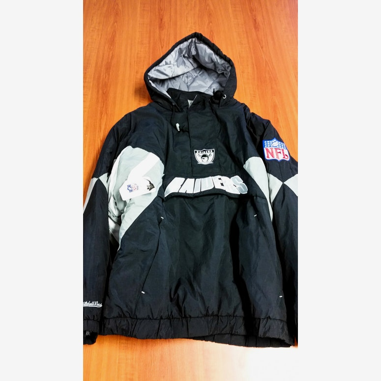 Throwback Jacket Black/grey