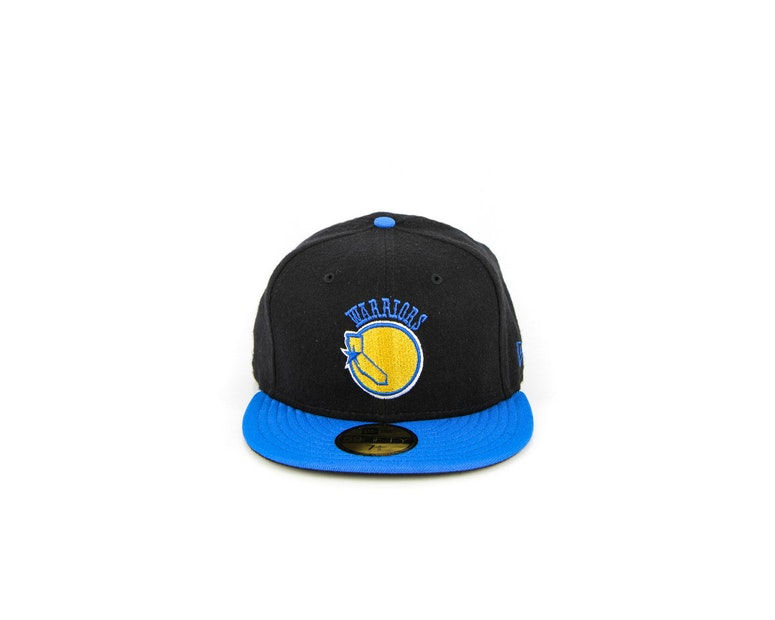 San Francisco Golden ST Warriors Fashion Fitted Black/blue