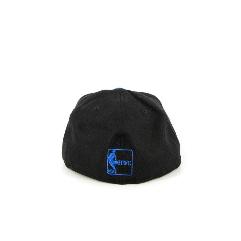 New York Knicks Fashion Fitted Black Heather