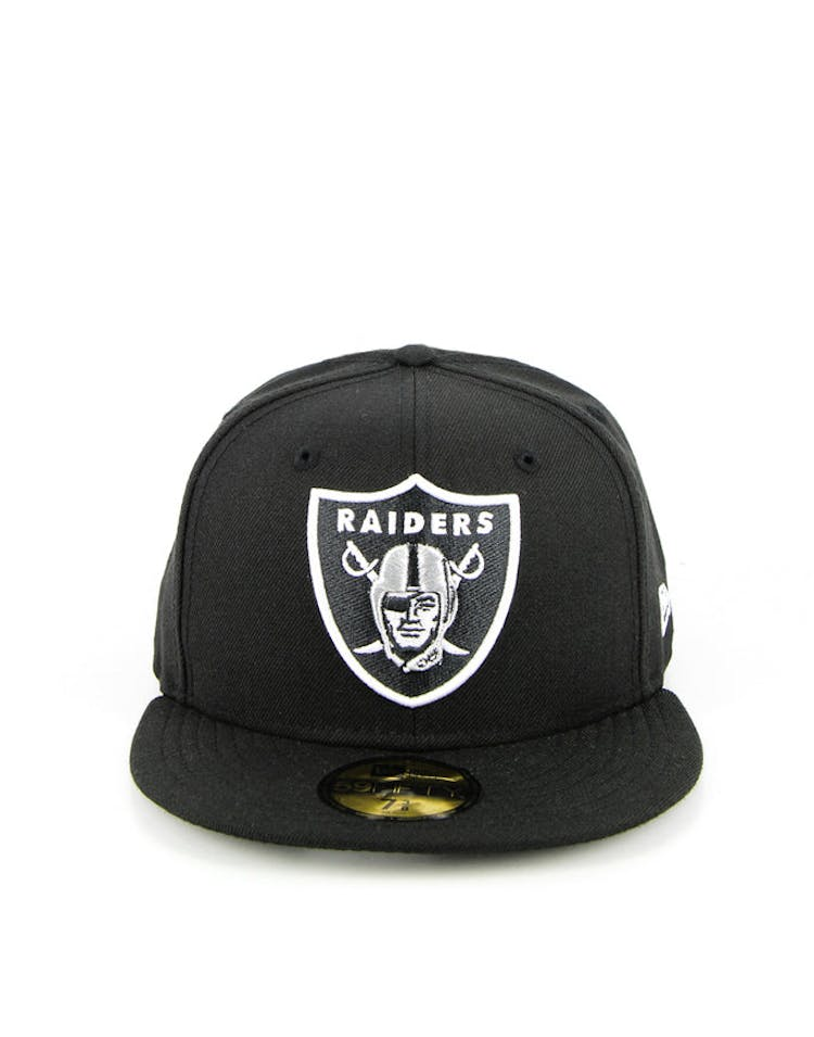 84653036 Oakland Raiders Fashion Fitted Black