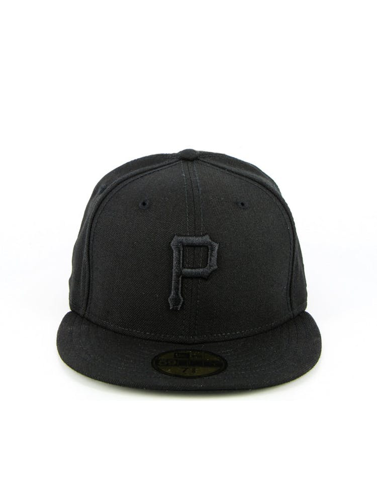 best authentic 49308 e8dab Pittsburgh Pirates Fashion Fitted Black black