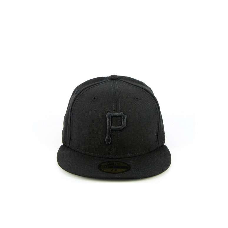 Pittsburgh Pirates Fashion Fitted Black/black