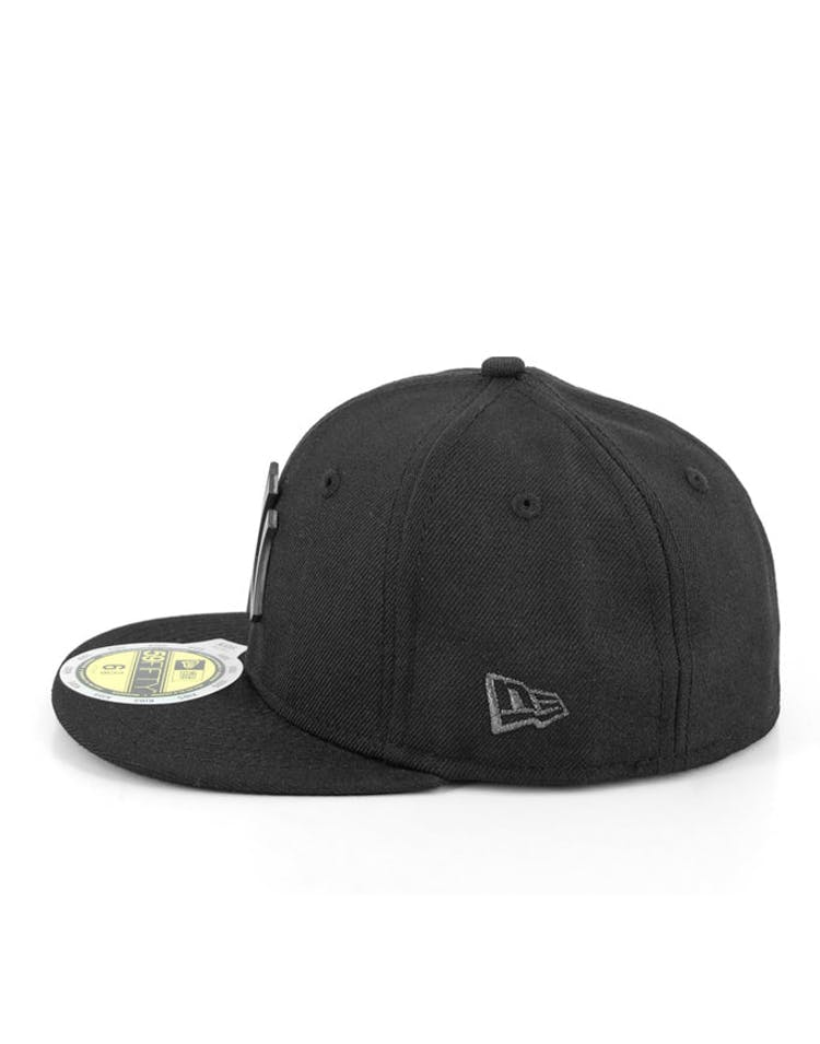 Dodgers Kids Metal Badge Black/black