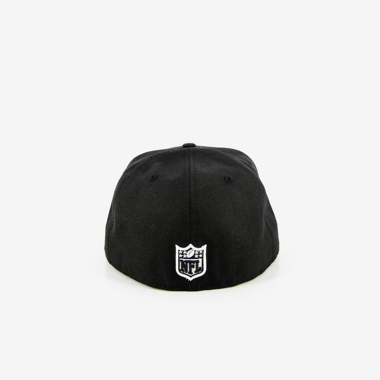 Oakland Raiders Fashion Fitted Black
