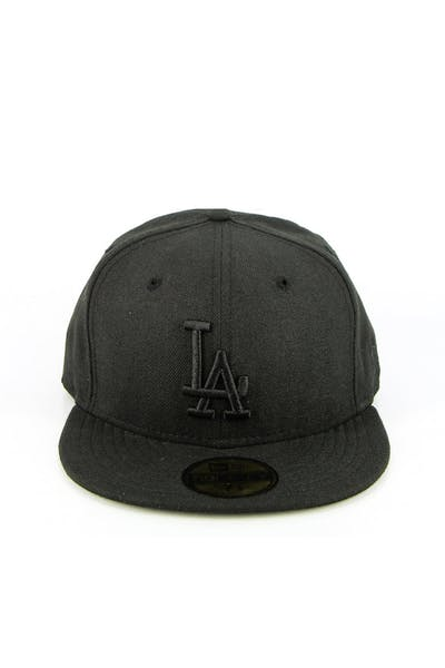 LA Dodgers Fashion Fitted Black/black