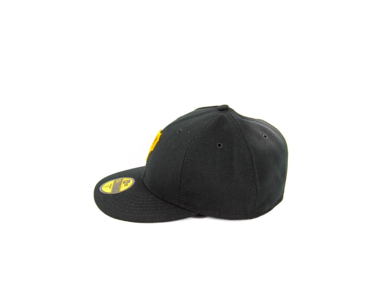 Pirates Low Crown On Field Black/yellow