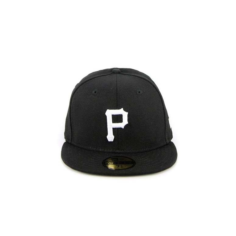 Pittsburgh Pirates Fashion Fitted Black/white