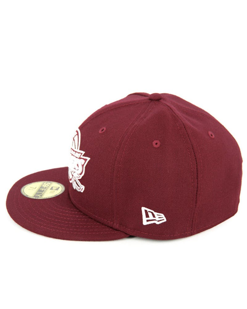 Cavaliers Fashion Fitted Cardinal/white