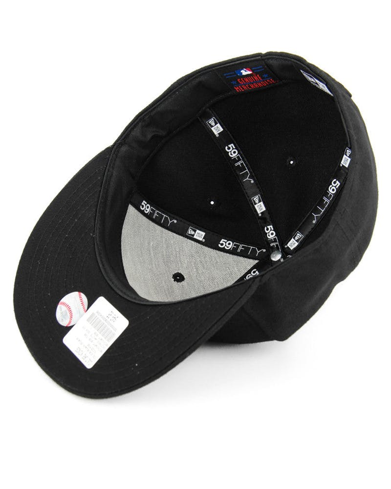Boston Red Sox Fashion Fitted Black/black