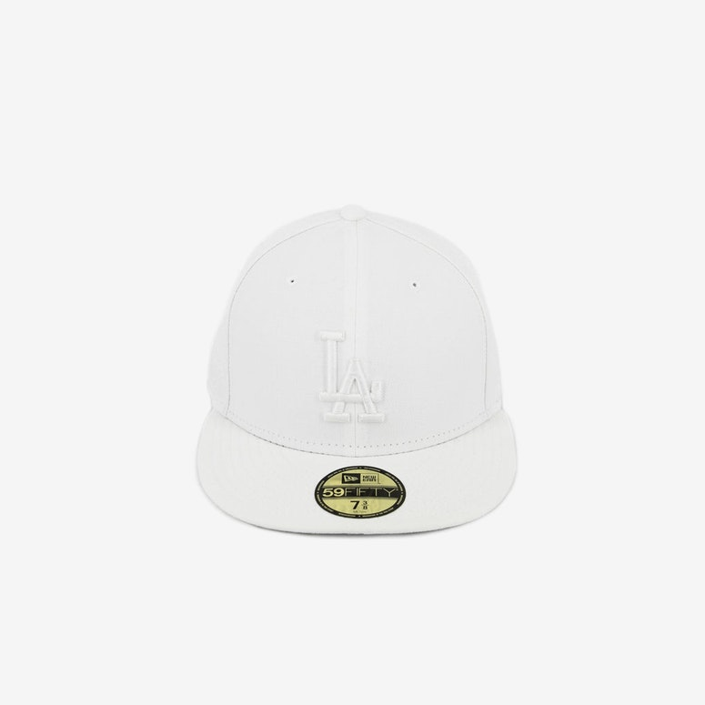 LA Dodgers Fashion Fitted 3 White/white