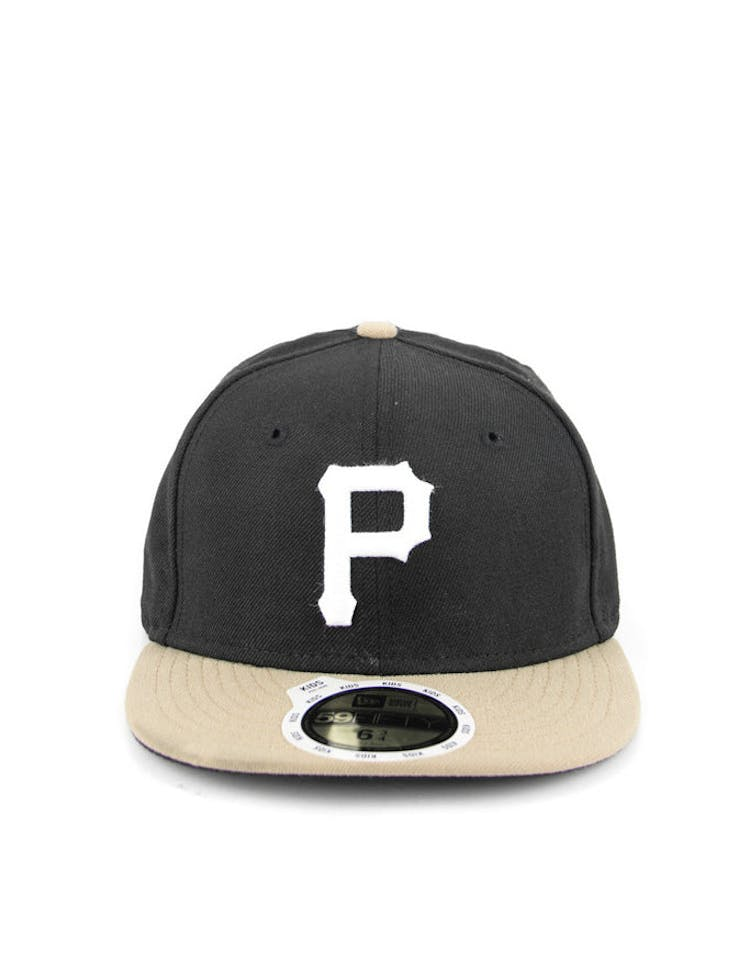 Pittsburgh Pirate Kids On Black/khaki