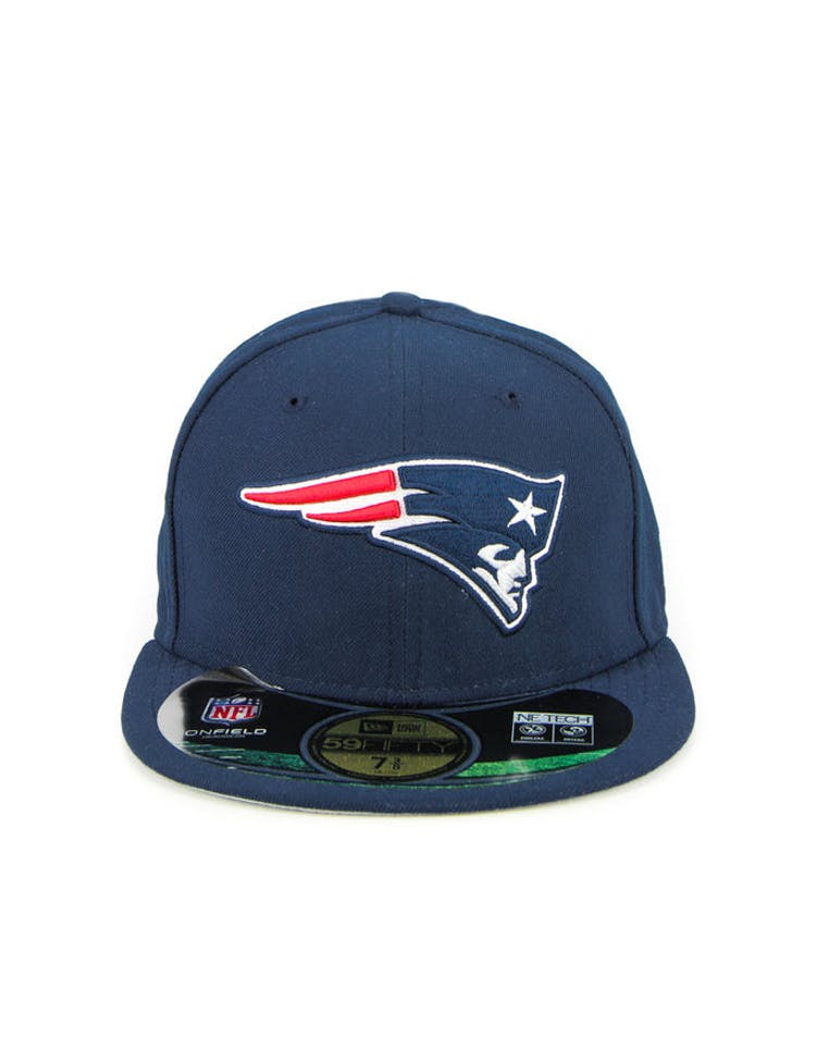 best service 4bac9 d63ac New Era New England Patriots Onfield Fitted Navy – Culture Kings