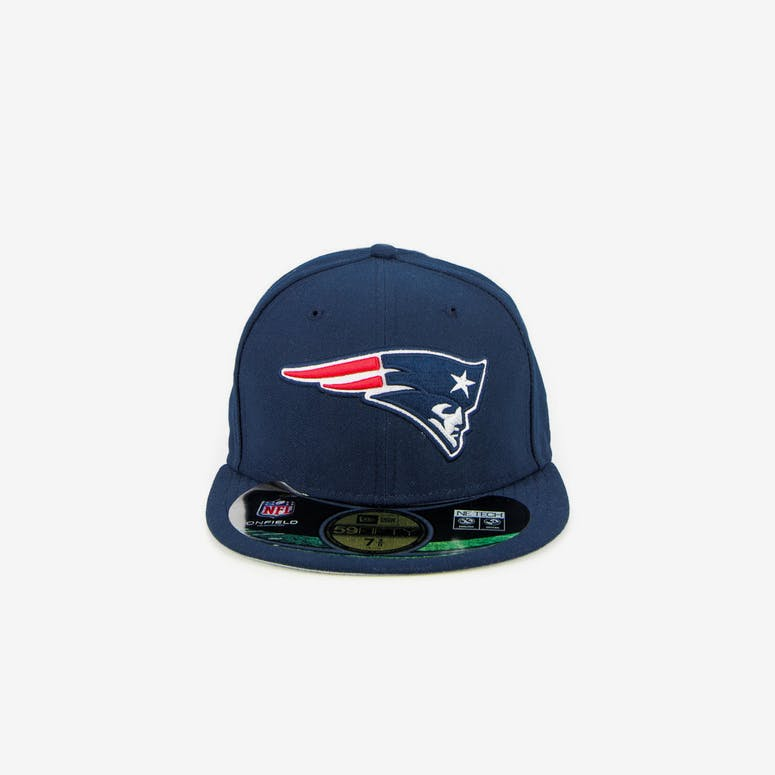 New Era New England Patriots Onfield Fitted Navy – Culture Kings 486356595cec