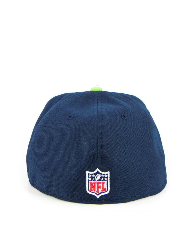 Seattle Seahawks Onfield Navy/lime
