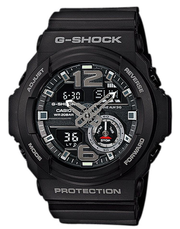 Ga310 Big Face Duo Black