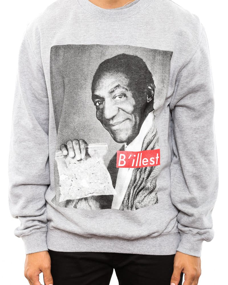 Billest Crewneck Heather Grey/re