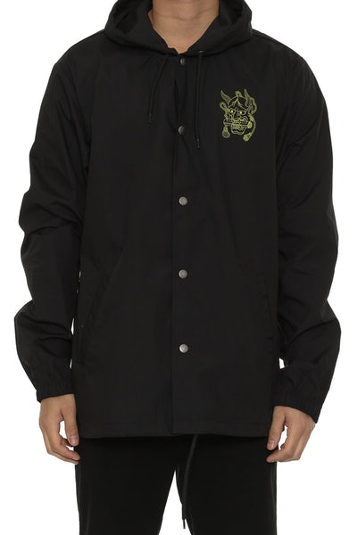 Hanya Scroll Jacket Black