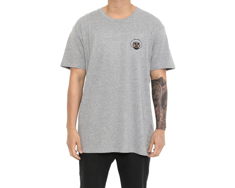 Schoolboy Q Mini Head Tee Grey