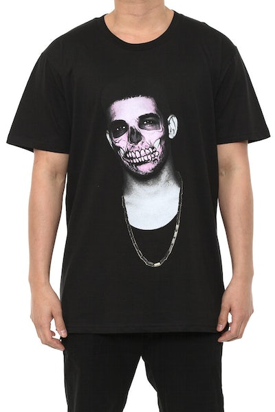 Drake Day of the Dead Tee Black
