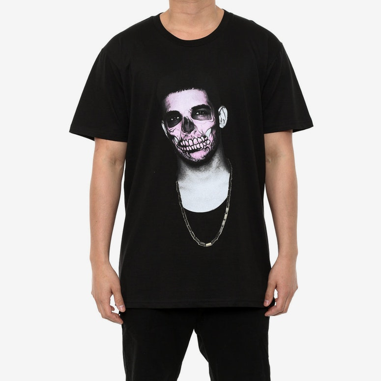 Drizzy Day of the Dead Tee Black
