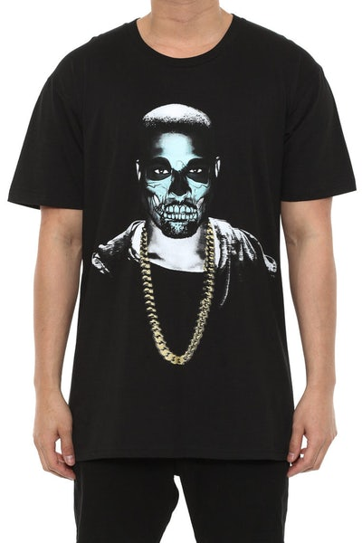 Yeezy Day of the Dead Tee Black
