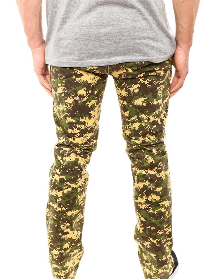 Digi Camo Pant Yellow/green Ca
