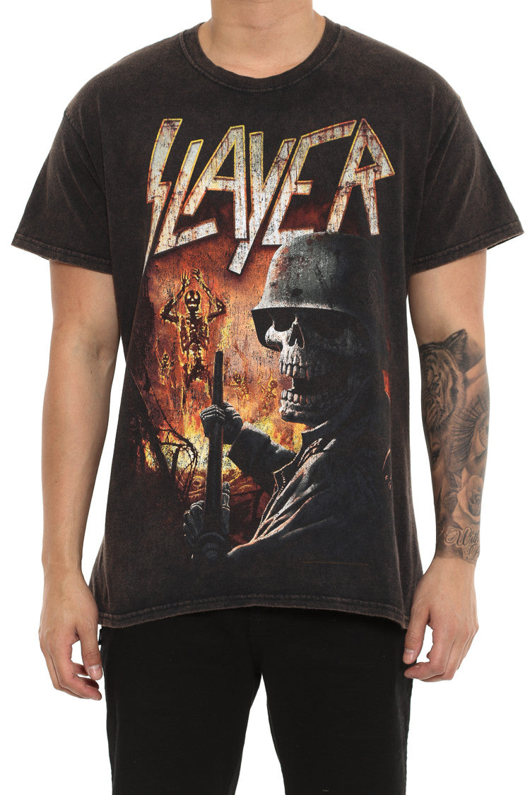 Slayer Torch T-Shirt Homme