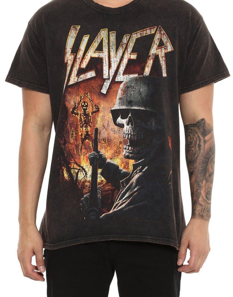 da1687d0b720 Global Merchandising Slayer Torch Black Vintage – Culture Kings