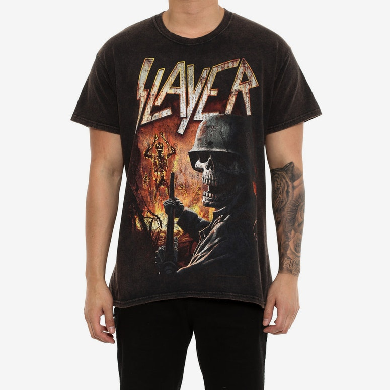 Slayer Torch Black Vintage