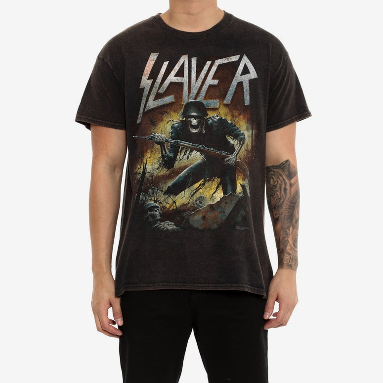 Slayer War Within Black Vintage
