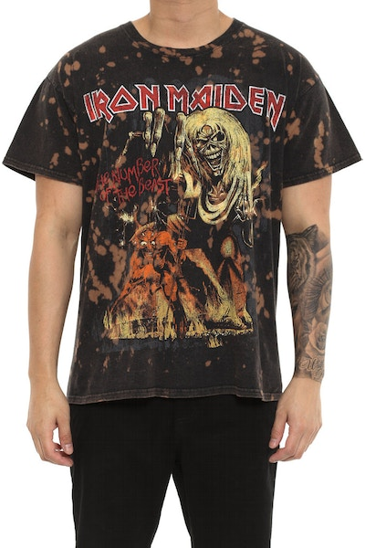 Iron Maiden NO of the Beast SD Black Vintage