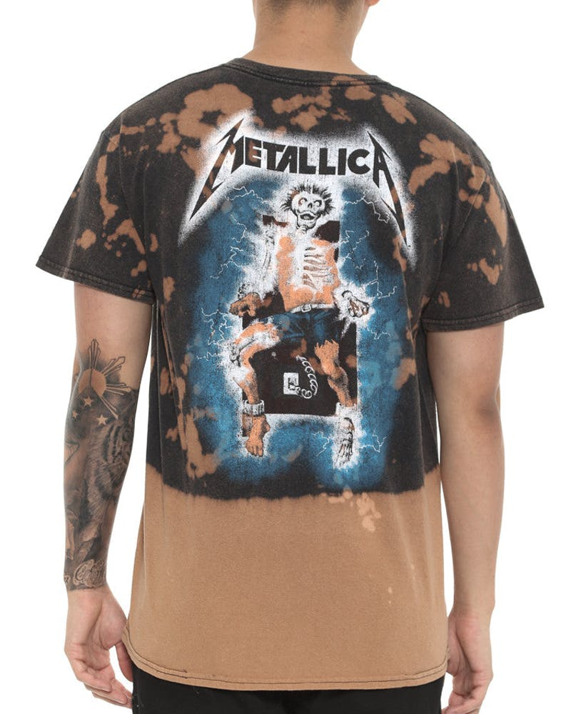 Metallica Ride Lightning S&d Black Vintage