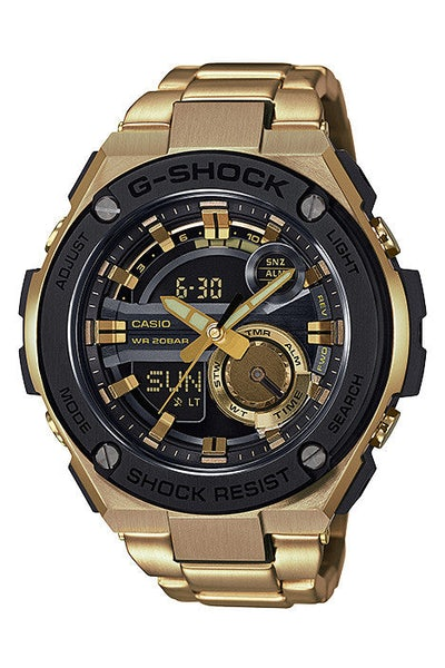 Gst-210gd G-steel Series Gold