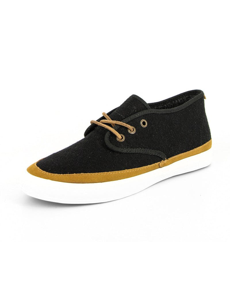 Quarters Wool Shoe Black