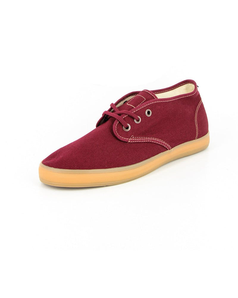 Quarters Shoe Maroon