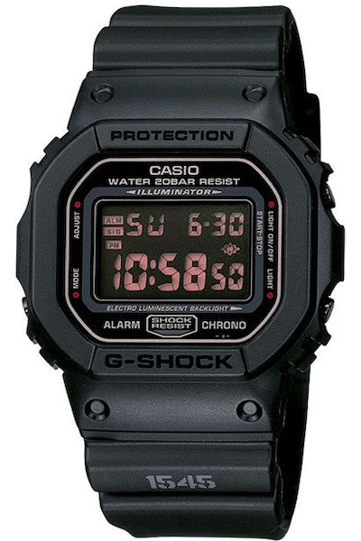G-shock Finish Series Black