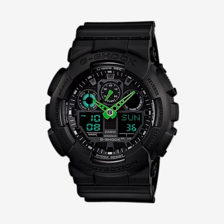 Ga-100c Neon Lights Black/green