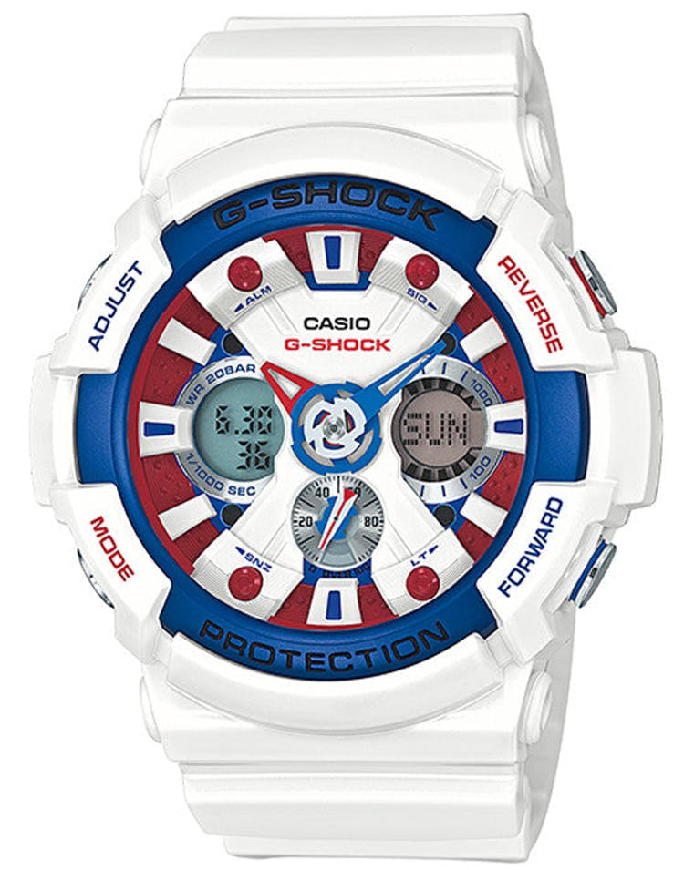 Ga201tr Analog Tri Colour White