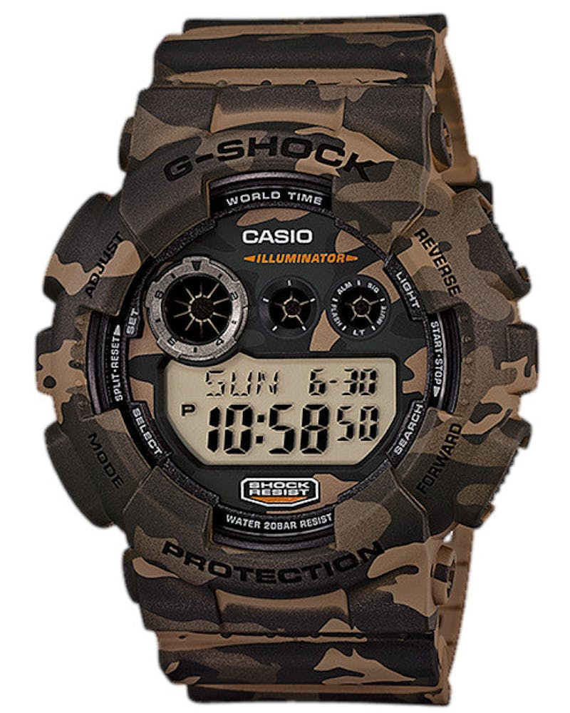 Gd120cm Digi Camo Series Brown Camo