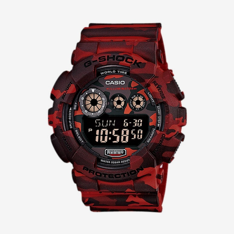 Gd120cm Digi Camo Series Red Camo