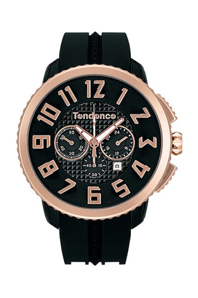 Gulliver 47 Chrono Black/rose Gold