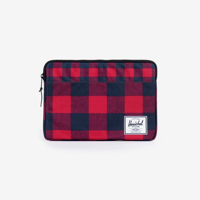 Anchor Sleeve 13 Inch Macbook Red/black