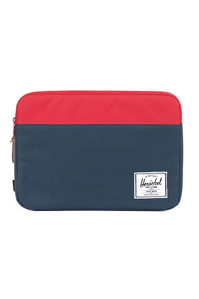 Anchor Sleeve 13 Inch Macbook Navy/red