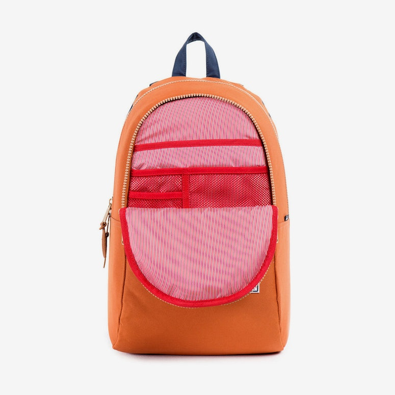 Nelson Rubber Orange/navy/kha